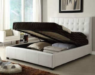 Quality Leather Designer Furniture Collection With Extra Storage Platform Bedroom Sets Small Bedroom Bed King Size Bedroom Sets