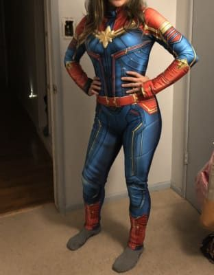 Pin On Ray S Stuff Marvel carol danvers cosplay costume. pinterest