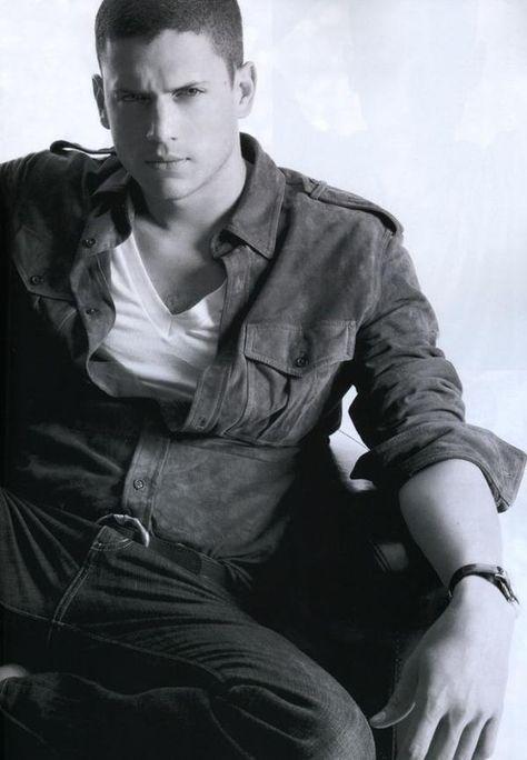 Wentworth Miller aka Scofield aka my husband :)