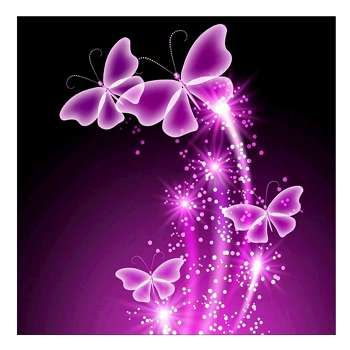 Beauty Butterfly 5D Diamond Embroidery Painting Cross Stitch Craft DIY Art Decor