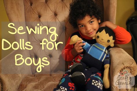 Sewing Dolls for Boys- Pattern Review