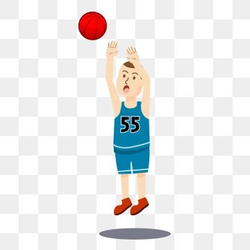 Athlete Basketball Lovely Lovely Cartoon Cartoon Basketball Basketball Png And Vector With Transparent Background For Free Download Cartoons Love Cartoon Graphic Design Background Templates