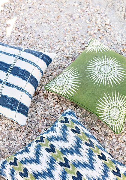 Thibaut Sunbrella Fabric Tempo Blue, Indoor Outdoor Fabrics