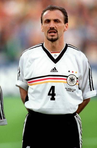 Jurgen Kohler Germany Deutsche Fussball Bund Fussball Bund Deutsche Bundesliga