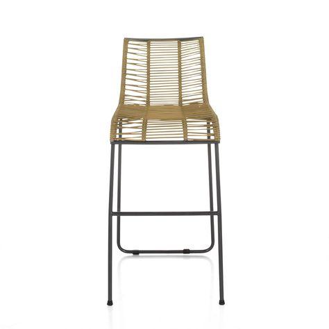Chaise haute de bar Caramel - Zeta - Les tabourets hauts - Chaises et tabourets - Consoles, tables et chaises - Décoration d'intérieur - Alinéa
