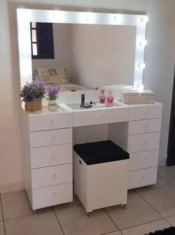 21 Ideas For Makeup Table Corner Closet Makeup Corner Vanity Dressing Table Design Diy Dressing Tables