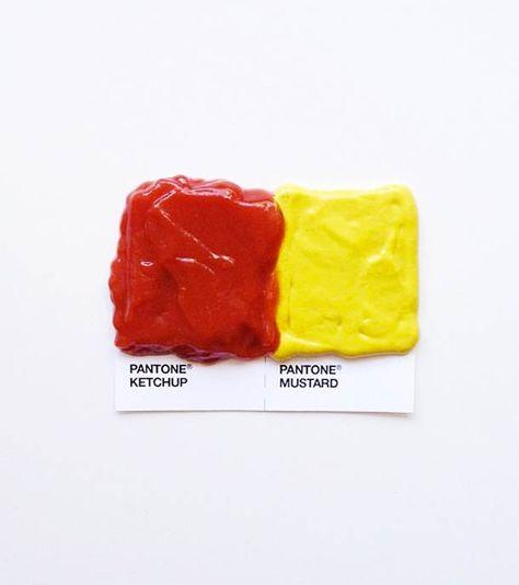 Pantone Food Pairings – Les goûts et les couleurs… | Ufunk.net