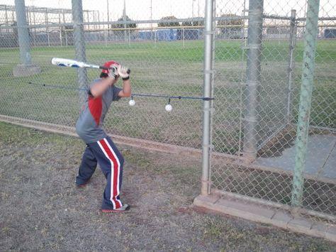 All-in-one baseball & softball batting trainer. Hitting aid that will promote proper batting mechanics. Baseball equipment to help swing mechanics