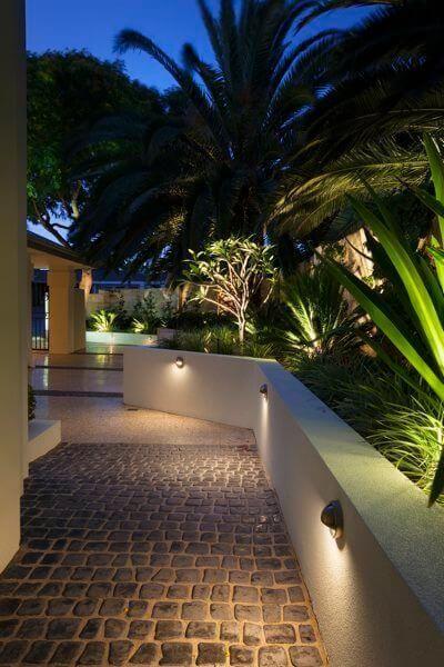 outdoor lighting can make a huge