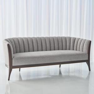 Global Views Channel Back Sofa Furniture Modern Sofa Designs Leather Sofa