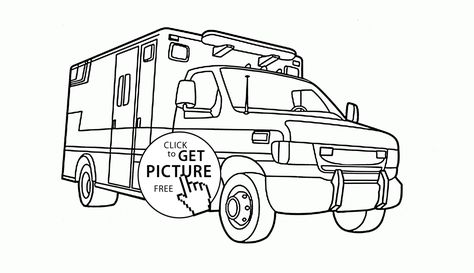 Semi Truck Volvo coloring page for kids, transportation coloring - copy coloring pages transportation vehicles