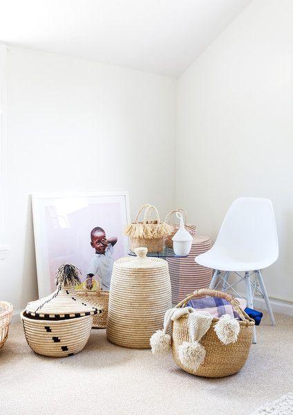 Basket Case - A Creative Director's Modern-Meets-Global Beach House - Photos