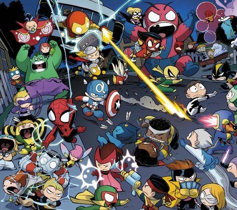 Avengers vs X-men babies - visit to grab an unforgettable cool 3D Super Hero T-Shirt!