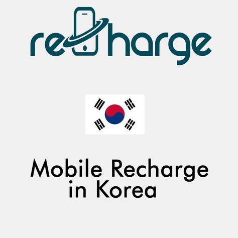 Mobile Recharge in South Korea. Use our website with easy steps to recharge your mobile in Korea. #mobilerecharge #rechargemobiles https://recharge-mobiles.com/