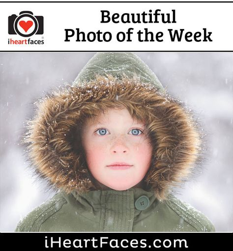 Beautiful Photo of the Week #photography #iheartfaces #children #snow #winter
