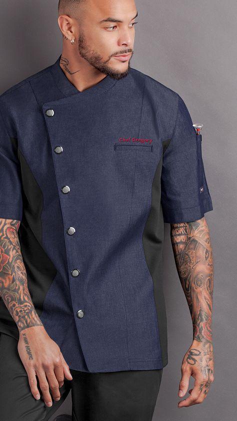 cocina Delantal de manga larga espalda ropa Color : #1 ropa anti-ropa ropa
