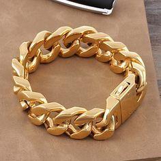 40 Original Men's Gold Bracelet Designs - Machovibes