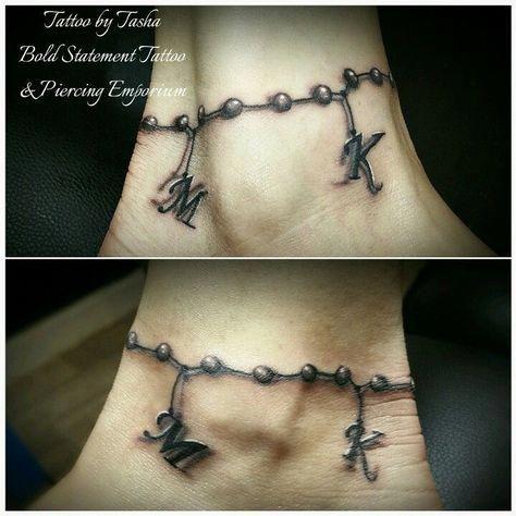 Bracelet Tattoo #bracelettattoo