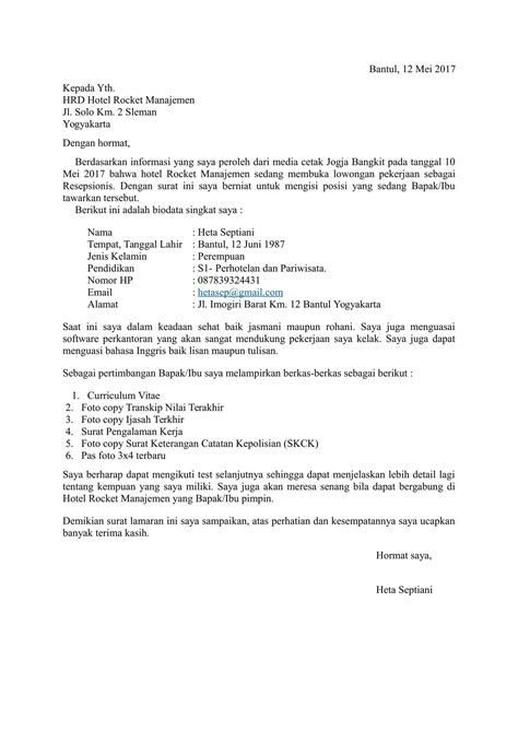 List Of Pinterest Surat Lamaran Kerja Rumah Sakit Pictures