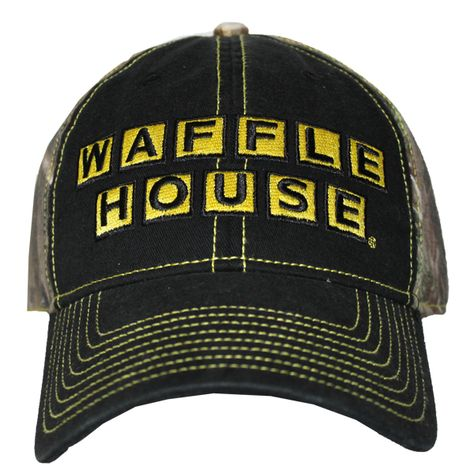60131a47e2b0b Gotta have a Waffle House hat!   Great Camping, Hiking, Fishing and ...