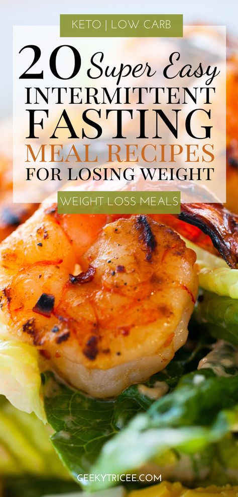 Interested in losing weight with intermittent fasting? These are 20 low carb meal prep recipes for beginners looking to start right with intermittent fasting. Improve your results with these recipes and foods. Get intermittent fasting meals ideas and recipes for weight loss. Easy low carb recipes great for weight loss that are keto too. Healthy keto breakfast, lunch, and dinner recipes. #keto #ketogenic #ketorecipes #healthyeating #healthyrecipes #healthyliving #lowcarb