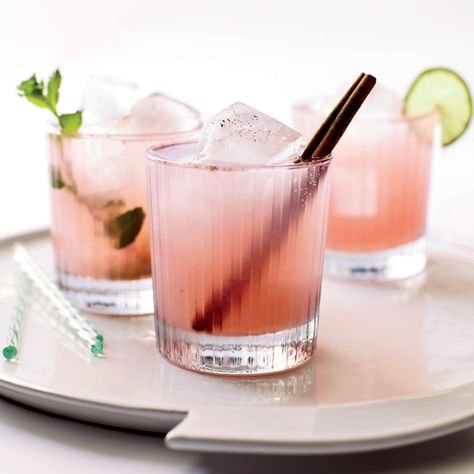 A great spring drink that also makes a perfect Easter cocktail recipe: Agricole Guava Cooler. So tasty! | Food & Wine