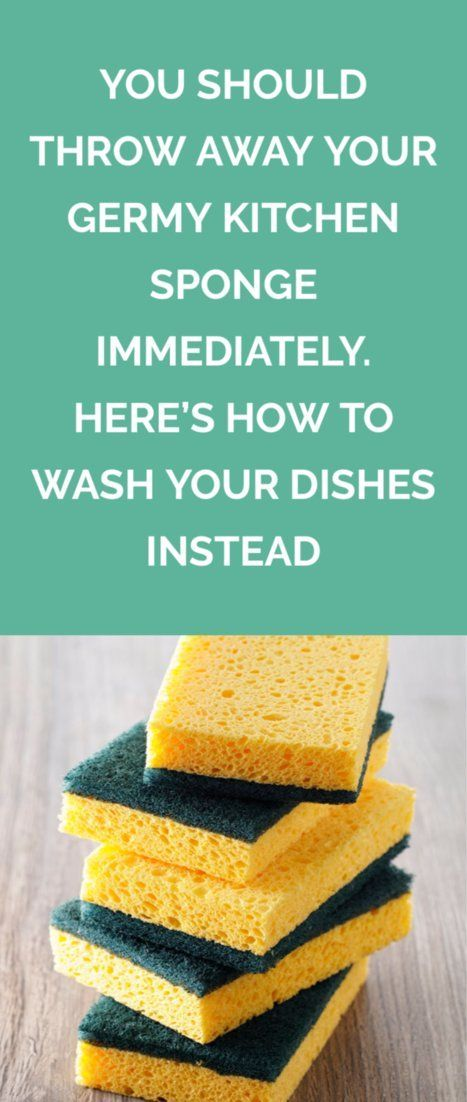 Toss The Sponge Here S The Best Way To Hand Wash Dishes Kitchen