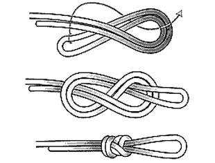 Paracord Knots, Rope Knots, Macrame Knots, Loop Knot, Knot Braid, Diy Jewelry Tutorials, Beading Tutorials, Fishing Hook Knots, Sailing Knots