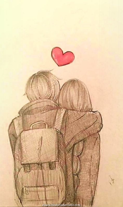 Fantastic anime draw hug #drawings #artwork  #anime #artwork #drawings