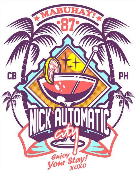 some random graphics I made for Nick Automatic circa 2011.
