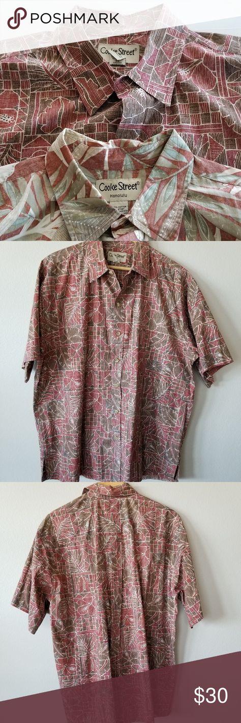 90a0a098 2 Cooke Street Hawaiian camp short sleeve shirts Cooke Street