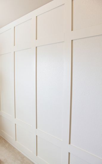 how to the paneled wall decorchick! - 343×550