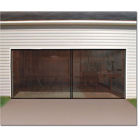 The Lifestyle Garage Door Screen Is A Fully Retractable Garage