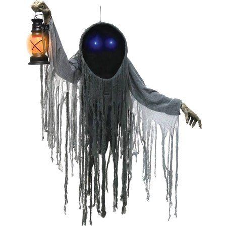 Looming Phantom Halloween Decoration Walmart Com In 2020 Haunted House Props Animated Halloween Decorations Halloween Animatronics