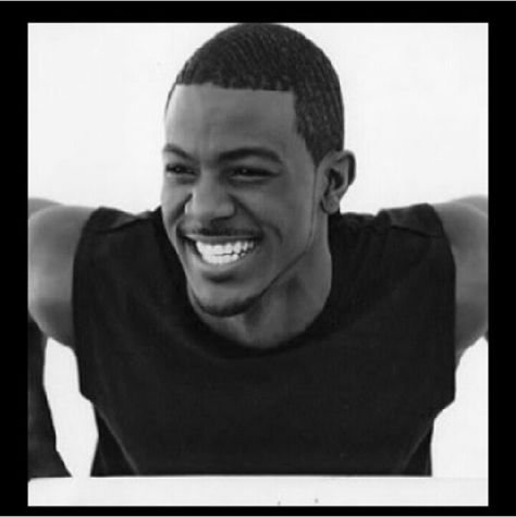 Lance Gross sexy smile