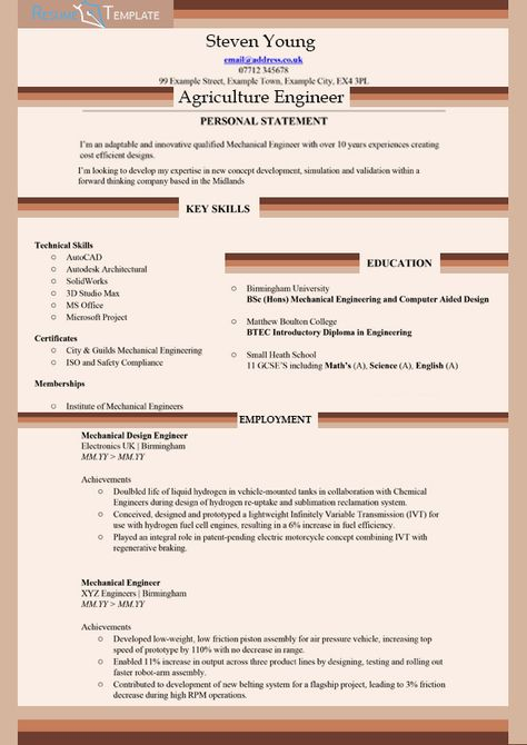 Agriculture Resume Help FFA Pinterest Resume help - agriculture engineer sample resume