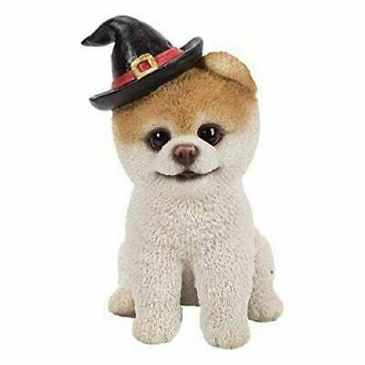Pacific Pt Kurze Haare Boo Hund Mit Halloween Hut Home Decor Statue Harz 5 25 H