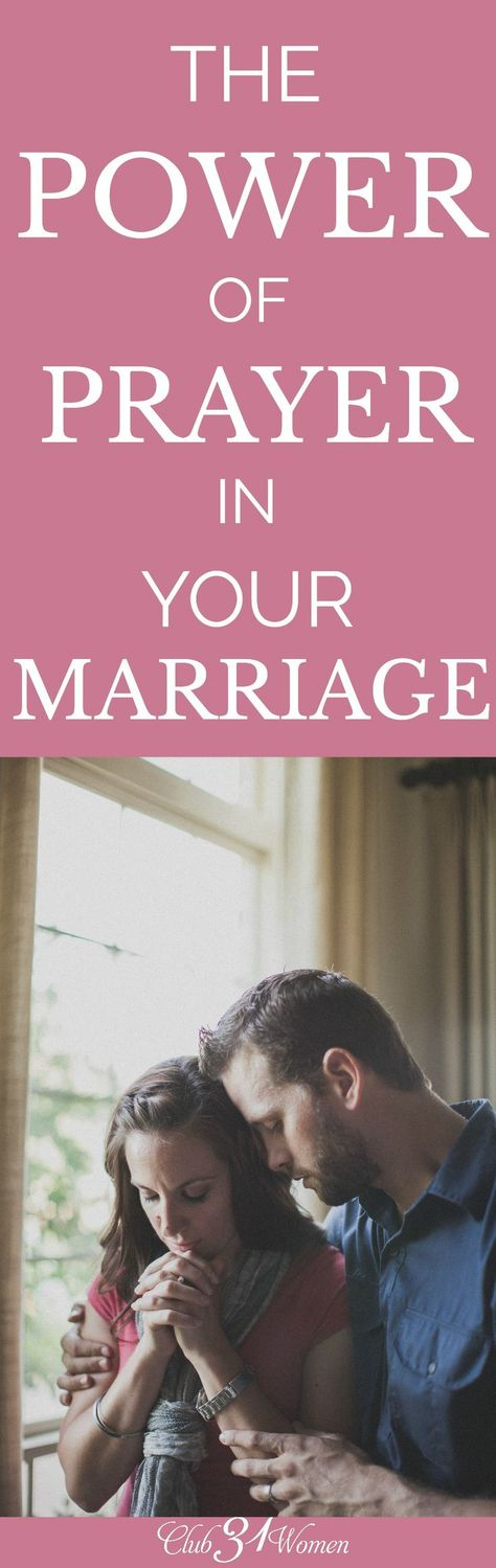 What can have the most powerful impact on your marriage? What can change…