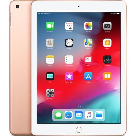 Ipad 9 7 Inch 6th Gen March 2018 32gb Gold Wi Fi Refurbished In 2020 Apple Ipad New Apple Ipad Ipad