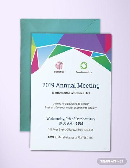 Meeting Invitation Formalinvitationacceptancewording