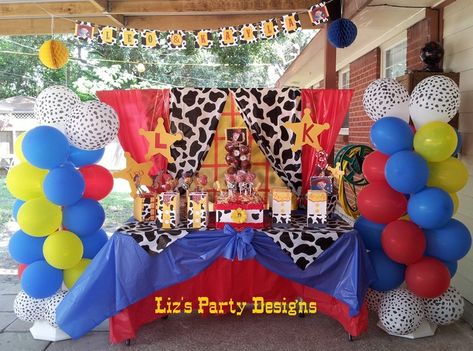 """Photo 2 of 28: Toy Story Woody and Jessie / Birthday """"Leo and Kayla's Round Up"""" 