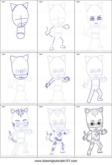 Pj Masks Coloring Picture Pj Masks Coloring Pages Catboy Pj