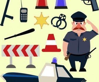 28 Gambar Kartun Kantor Polisi Di 2020 Kartun Gambar Grafik