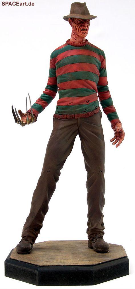Nightmare on Elm Street: Freddy Krueger Statue, Fertig-Modell ... http://spaceart.de/produkte/nes012.php