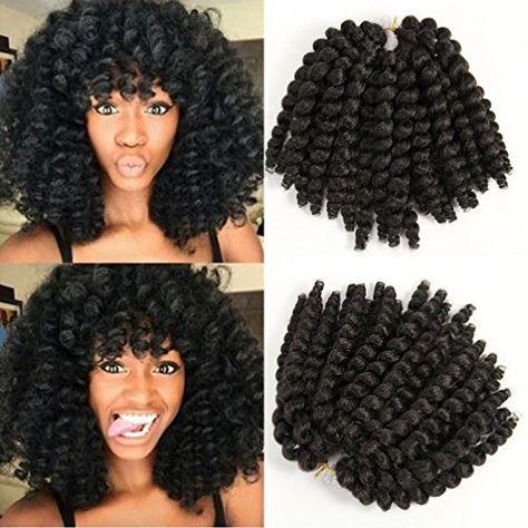 Jamaican Bounce African Havana Mambo Twist Curly Crochet Hair Extensions