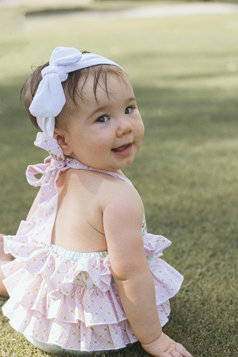 64dd20682 In Stock and Ready to Ship Mint Unicorn Ruffled Toddler Romper ...