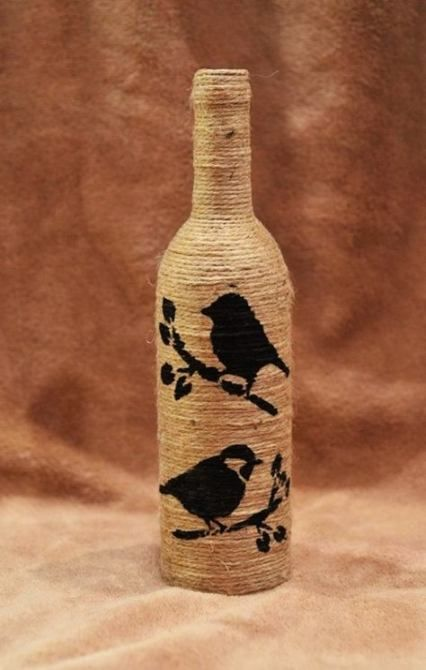 Pin By Munmee Narayan On Creativity Diy Bottle Crafts