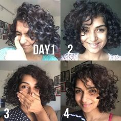 Curly Hair Refresh Routine For 3a Type Curly Hair Second Day Wavy Hair How To Refresh Curls A Curly Natural Curls Curly Hair Styles Naturally Curly Hair Tips