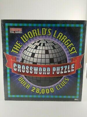 Advertisement New Vintage The World S Largest Crossword Puzzle Over 28000 Clues 7 X7 Herbko Crossword Puzzle