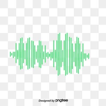 Green Pixel Sound Wave Curve Png Picture Green Pixels Audio Png Transparent Clipart Image And Psd File For Free Download Waves Vector Sound Waves Prints For Sale